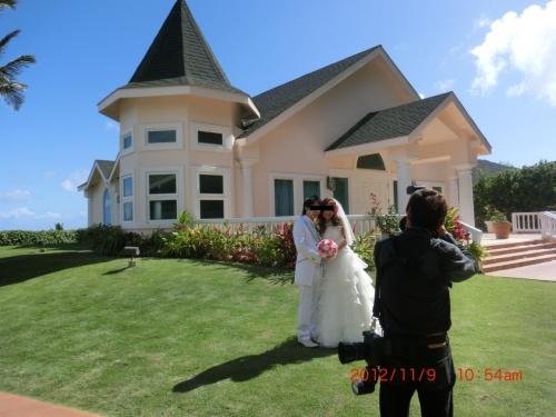 息子がハワイで結婚式を挙げる ...
