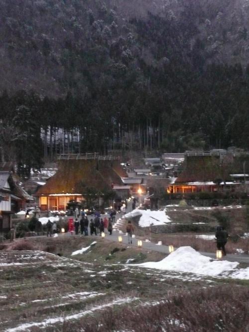 美山 雪灯廊