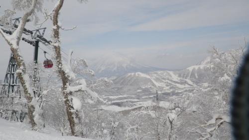 ルスツリゾートにてスキー