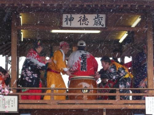 2013奇祭・勝山左義長まつり