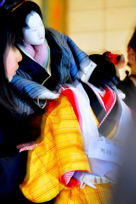 2013 真桑人形浄瑠璃 <傾城阿波の鳴門 巡礼歌の段>