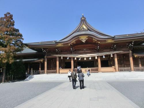 寒川神社へ(2013年3月)