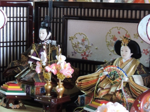 因幡街道・古町の雛祭りを見に・・・。(^^)