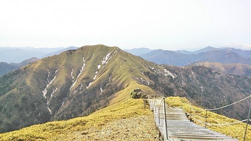 2013 春の剣山登山