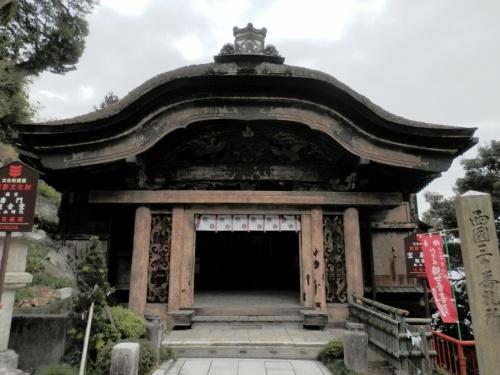 太閤の 遺構が残る 竹生島