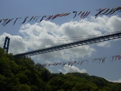 2013年5月 竜神大吊り橋とキャンプ