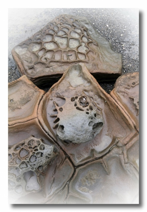 Solitary Journey [1195] ●雨・雨・・鬼の洗濯板で有名な堀切峠(道の駅フェニックス)→青島へ<GW九州一周車旅>宮崎県宮崎市