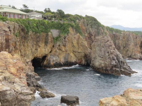 南紀白浜へー三段壁と洞窟と、ちょっとだけ白良浜