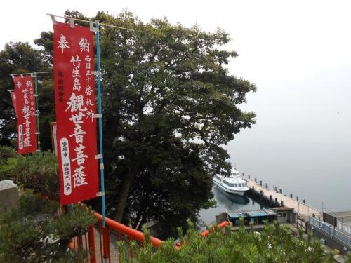 琵琶湖に浮かぶパワースポット「竹生島」