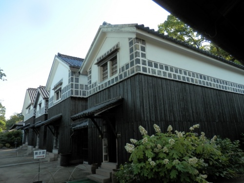塩田王の野崎家旧宅訪問