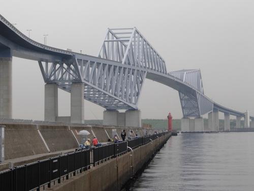 東京ゲートブリッジを歩き、潮風に癒される、若狭公園の巻