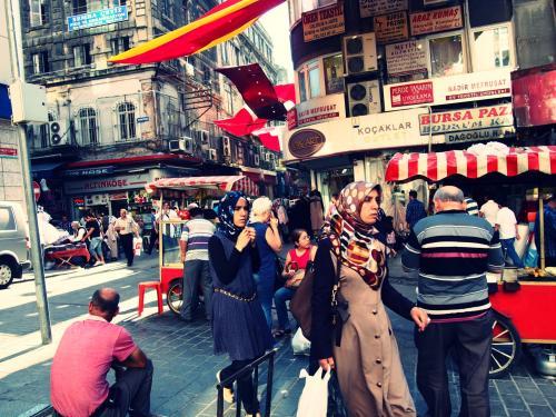 出発直前、連日ニュースではイスタンブールで反政府デモ拡大のニュース。<br />16年ぶりのトルコ旅行がそんな時期にあたってしまったが...個人手配なので自己責任でイスタンブールへ飛んできた。<br />結果、旧市街の観光地は通常通りで全く問題なし! <br />新市街の広場は警察多かったけど、デモ隊は無言の抗議のみ。<br /><br />16年前、20代の時冬のトルコ10日間周遊ツアーで行った時のイスタンブールは埃と香辛料とタイヤのこげたような匂いがして、旧市街は古臭くて中近東っぽいイメージだった記憶。でもどの街の景色も感動、猫が多い、そしてトルコ人が冗談ばかり言ってて毎日笑っていた記憶だった。<br /><br />そして今回イスタンブールの街を4日間歩いて感じたこと。<br />暑いっ! 街がきれいになってた!電車が増えた! 猫がかわいい!やっぱりトルコ人が親切、面白い!<br />旧市街のあの独特な匂いはなくなっていた... <br />日本人大好きなトルコ人に毎日話しかけられて楽しかった♪<br /><br />カッパドキアの絶景は2度目でもやはり感動だった。<br /><br />カッパドキア3泊、イスタンブール3泊 トルコ航空利用<br />1トルコリラ=約52円<br /><br />【カッパドキア<ギョレメ散策と洞窟ホテル編>】<br />http://4travel.jp/travelogue/10788498<br /><br />【カッパドキア<グリーンツアー編ウフララ渓谷ハイキング&お勧めレストラン>】<br />http://4travel.jp/travelogue/10789589<br /><br />【イスタンブール旧市街 モスクに魅せられて】<br />http://4travel.jp/travelogue/10791114<br /><br />【新市街の路地散歩~ちょっとデモの様子見に】<br />http://4travel.jp/travelogue/10793569<br /><br />【ボスポラス海峡クルーズとトプカプ宮殿編】<br />http://4travel.jp/travelogue/10798653<br /><br />【帰国日<カラキョイ&「セブンヒルズ」でランチ>】<br />http://4travel.jp/travelogue/10813403<br /><br />g
