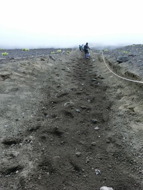2013 弾丸富士登山  須走・ずんずん砂走り