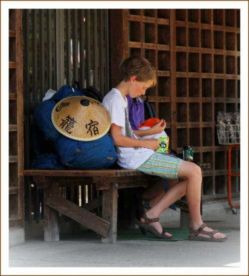 Solitary Journey [1232] 暑~い、熱い^^;;昔ながらの街並みを歩く <鳥取・兵庫・岐阜・京都・滋賀1800kmの車旅>岐阜県中津川市