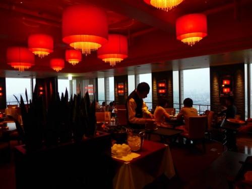 05.お盆休みの池袋2泊 池袋サンシャインシティ スカイレストラン JOE'S SHANGHAI(ジョーズシャンハイ)の夕食
