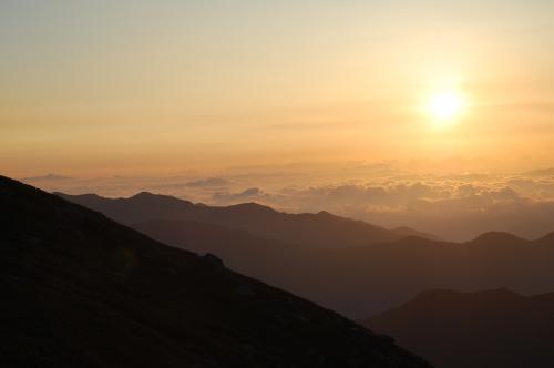 福地温泉に泊まる1泊2日、奥飛騨への旅(乗鞍ご来光ツアー・新穂高ロープーウェイ・高山)