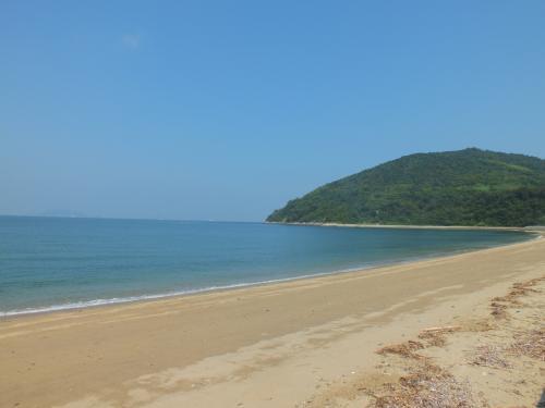 【3】海ほたるに逢いに粟島へ★なかなか楽しめる粟島をほろほろ観光⇒銭形砂絵へ