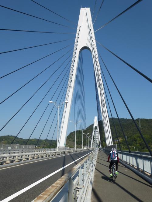 秋晴れのサイクリング♪ しまなみ海道 + ちょっぴり尾道散策