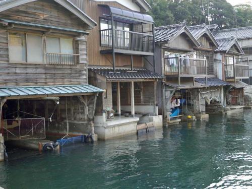 伊根の舟屋で民宿~京都府
