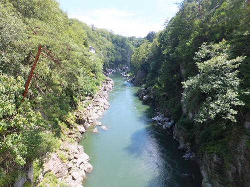 2013 静岡真夏の遠征第1弾【その3】天竜峡散策と温泉