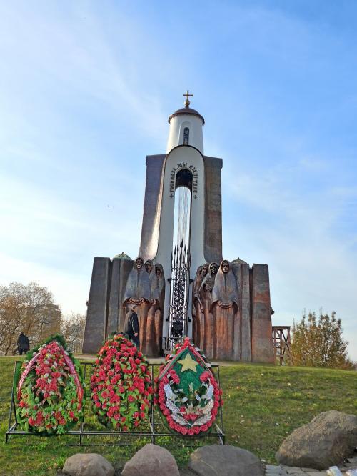 がミンスクの街だった.自転車 ...