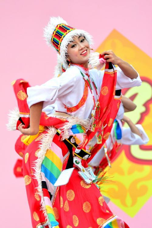 第8回 名古屋中国春節祭 後半(甘粛省芸術団による華麗なる踊り)