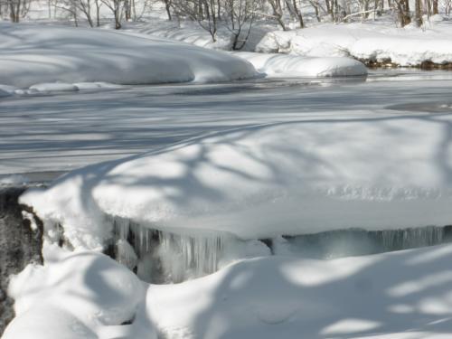 県道36号線 厳冬のころ