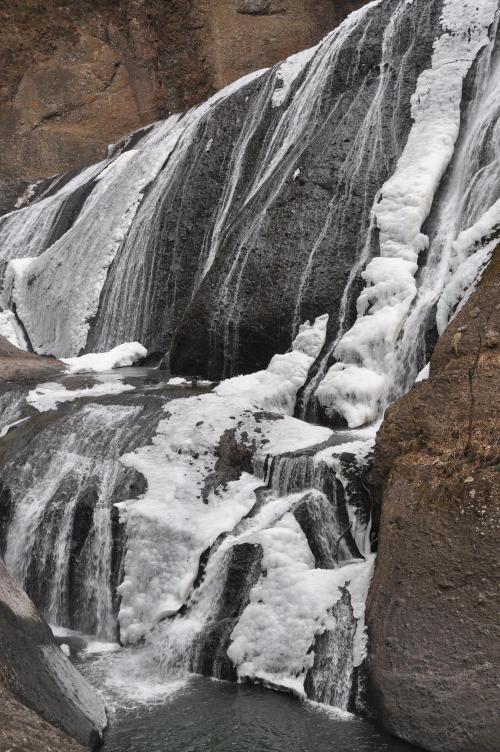 氷瀑「袋田の滝」