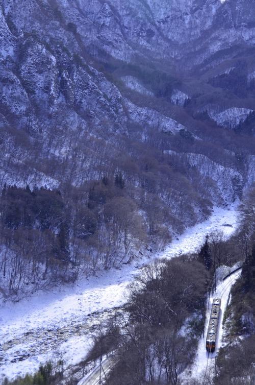 残しておきたい、ダムに沈みゆく吾妻渓谷と川原湯温泉周辺に広がる雪景色を求めて訪れてみた