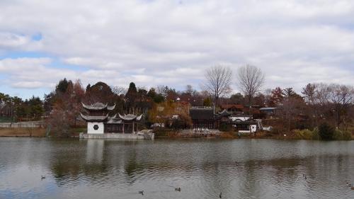 イルミ紀行(04)・・・花博記念公園 国際庭園・日本庭園を一回り。