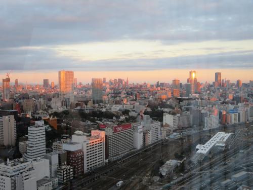 10年ぶりの東京へ☆その3☆ニコラシャルルの素敵なパフェ&インターコンチネンタルの夜景と朝焼けにうっとり(*^_^*)