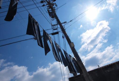 あちこちにジーンズ、ジーンズ、ジーンズ!!なジーンズストリート/岡山・児島