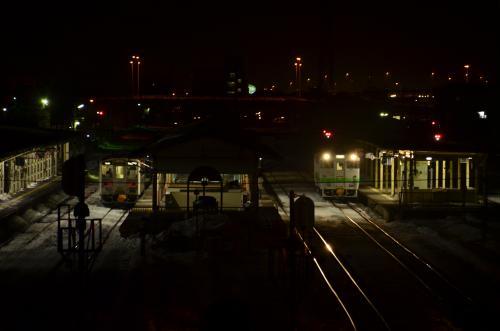 冬の北海道、道東・道央地方を巡る旅 ~釧路の街の夜景を探して~