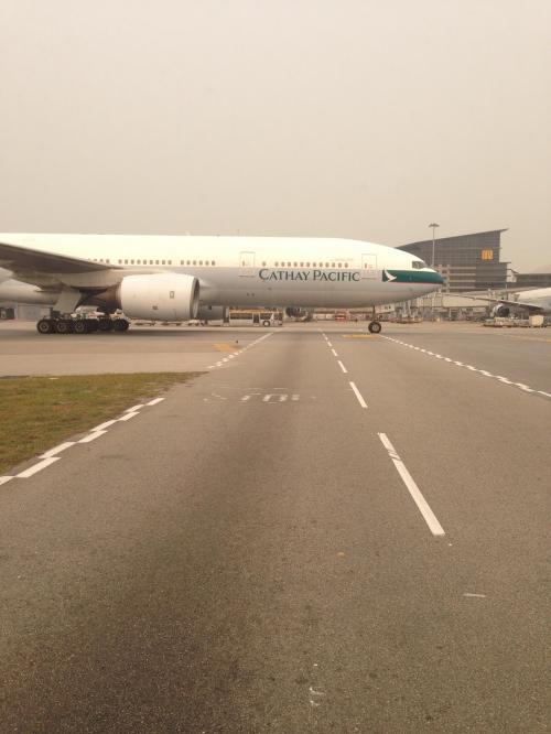 香港経由で、モルディブまで!
