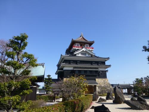 2014年春、尾張・信長の城を巡る旅 (1)清須城−五条川の岸を西へ東へ