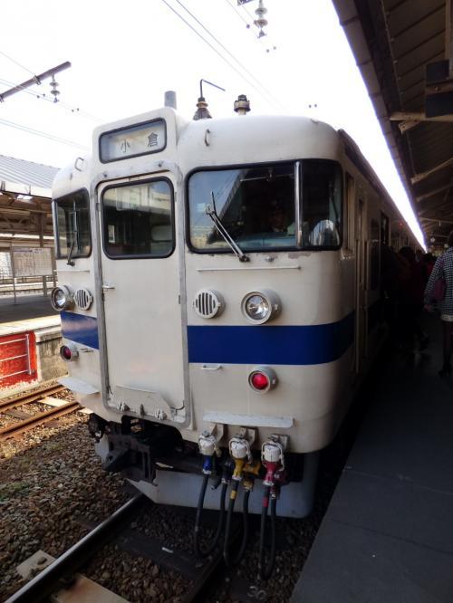 40.年末年始の九州旅行 下関 味一下関駅店の昼食 関門鉄道トンネルの鉄道の旅