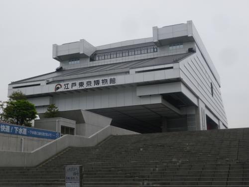 両国・江戸東京博物館で「大江戸と落中」展見学と周辺散策