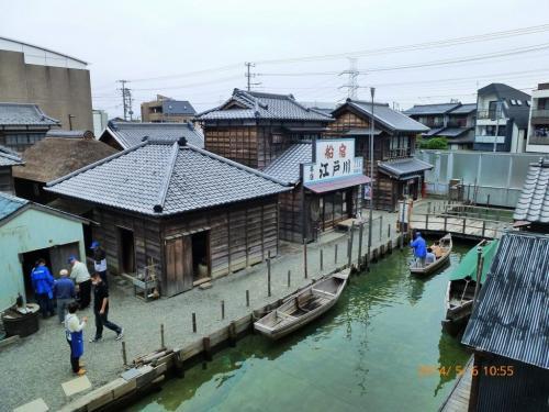 昭和27年ごろ?の漁師町浦安を再現した浦安市郷土博物館