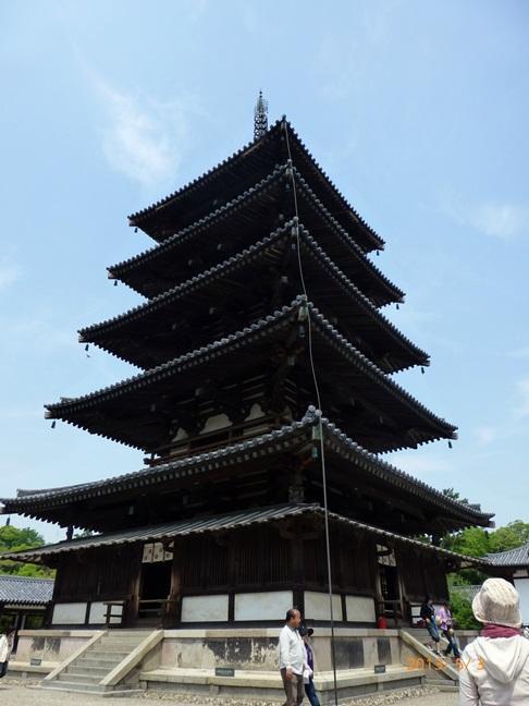 国宝尽くしの世界遺産 法隆寺に身震いをして 1・西伽藍