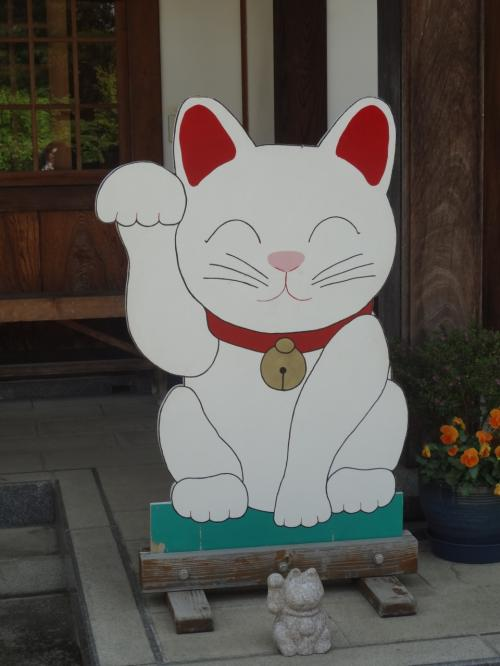 招き猫に誘われて新緑の世田谷散歩&新橋ちょい寄り