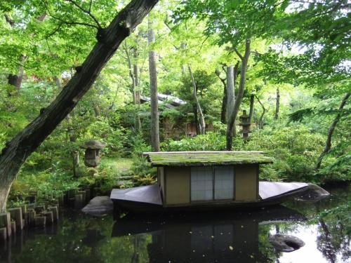 日本橋界隈と表参道(根津美術館の庭)散策・代々木公園のバラ