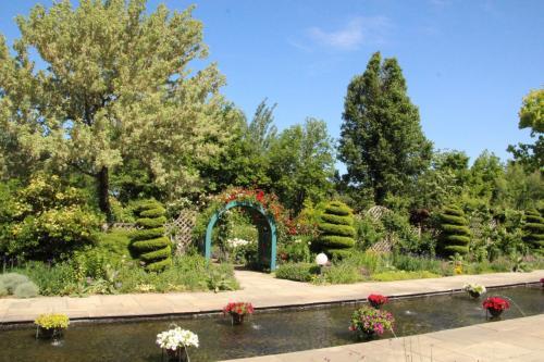 群馬 太田市  アンディ&ウィリアムスボタニックガーデン   ローズウィーク初日、バラの見ごろはもう少し後だったけれど… 初夏のお庭散策