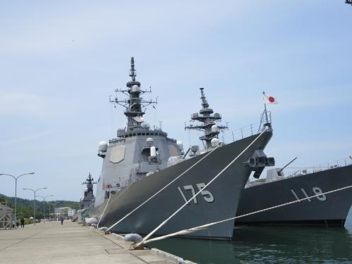 1日で5府県の旅でプチオフ会☆前編☆舞鶴海上自衛隊基地で、制服マニアの血が騒ぐヽ(^o^)丿