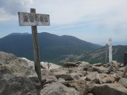高峰高原ホテルに宿泊して水ノ塔山・篭ノ登山に登る