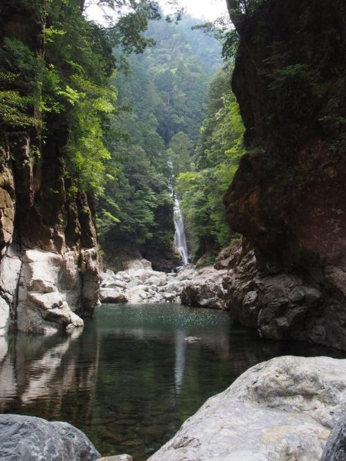 滝メグラーが行く159 秘境・大杉谷を歩く(1) 千尋滝とニコニコ滝