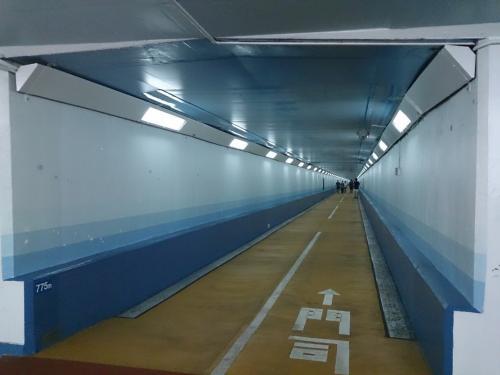 「関門海峡あるくさんぽ」 関門トンネル人道編 (山口県下関市⇔福岡県北九州市)