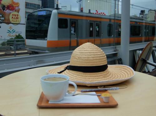 閑話休題 電車を眺めて コーヒー飲んで 旧万世橋駅