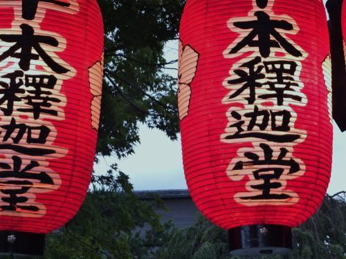 台風が過ぎ去った京都北野界隈を歩く