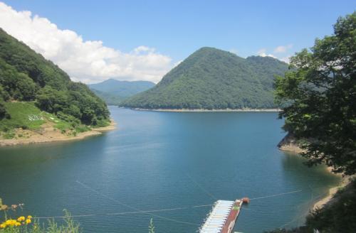 私にとっては秘境の川俣ダムへ避暑に行きました~薬膳に使われる熊のお肉も食べてみました。