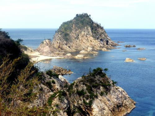 日本海沿岸周遊旅情2014'07山陰海岸ジオパークその2城原海岸